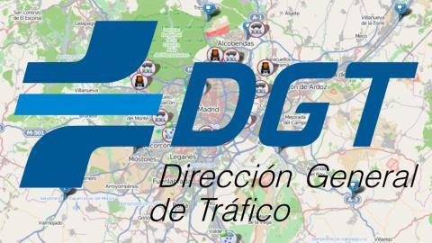 Mapa interactivo carreteras DGT