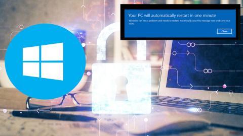 Solución errores Windows 10 contraseñas y reinicios