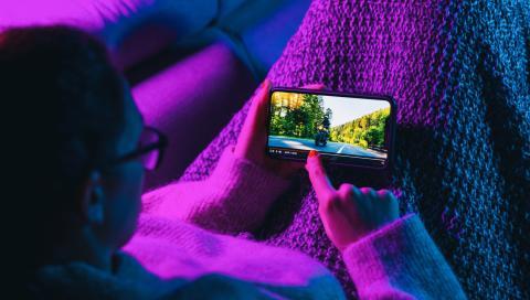Ver contenido streaming en el móvil