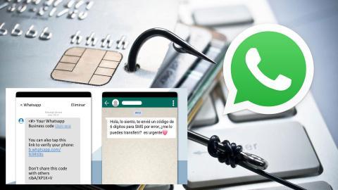 WhatsApp estafa verificación