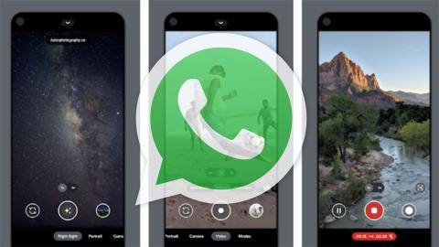 WhatsApp Google Camera