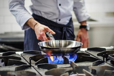 cocina fuego