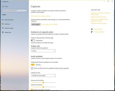 Cómo grabar la pantalla en Windows 10 (diferentes formas de poder hacerlo)