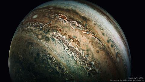 Un delfín en Júpiter