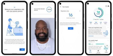Google Fit te permitirá medir tu frecuencia cardíaca y respiratoria usando solo la cámara del móvil
