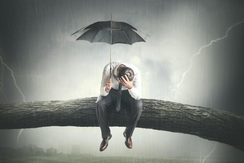 Paraguas superstición