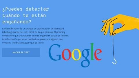 Test de Google phishing