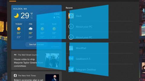 Windows 10 performance test
