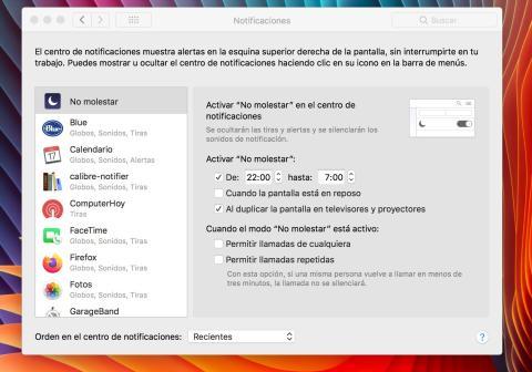 Desactivar  Mac