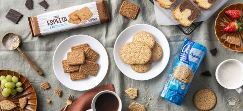 Galletas Digestive y galletas de espelta de Mercadona