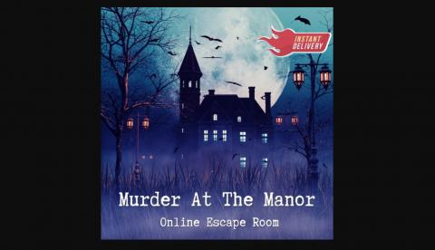 Murder at the Manor escape room