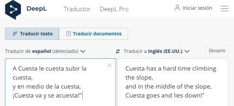 Traducción de DeepL