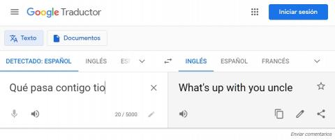 Traducción de Google