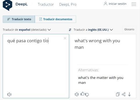 Traductor DeepL