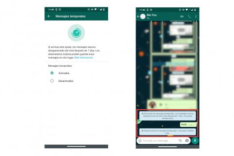 WhatsApp función oculta
