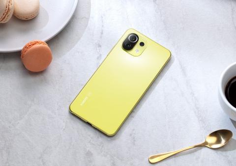 Xiaomi Mi 11 Lite 5G Amarillo