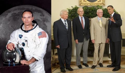 Astronautas de la misión Apolo XI
