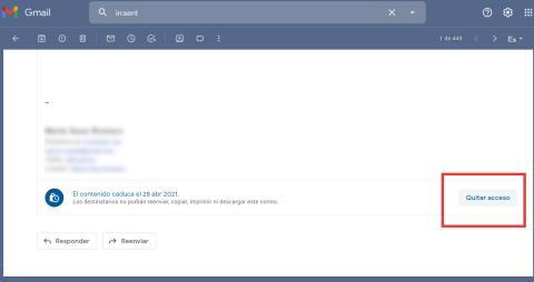 Gmail correo confidencial tutorial