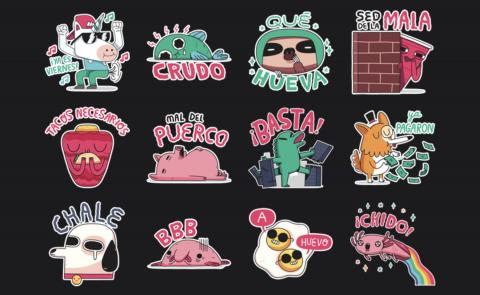 Stickers WhatsApp México