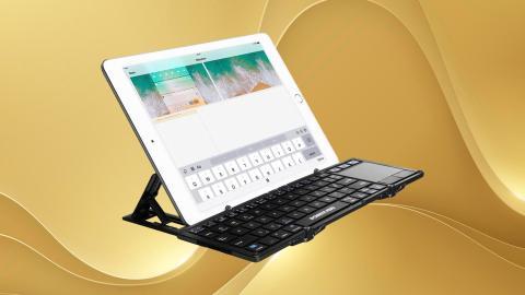 Teclado plegable Poweradd para iPad