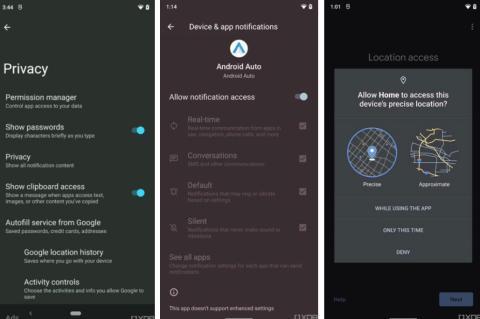 Versión preliminar Android 12