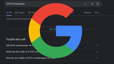 DVD Screensaver en Google