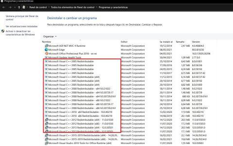 Errores de mantenimiento de Windows 10