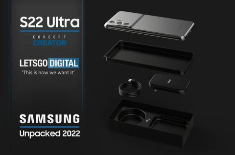 Primeras imágenes del que podría ser el Samsung Galaxy S22 Ultra