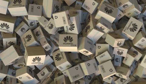 Huawei cajas