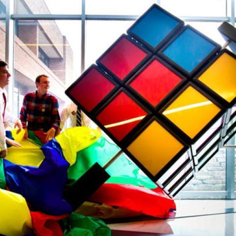 cubo rubik gigante