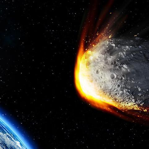 Asteroide cerca de la Tierra