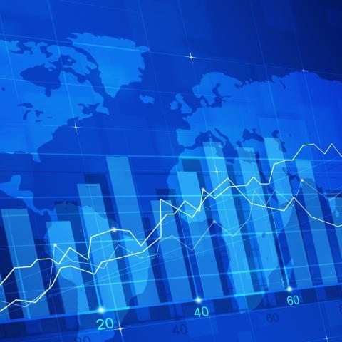 Gráfica estadísticas países mercado