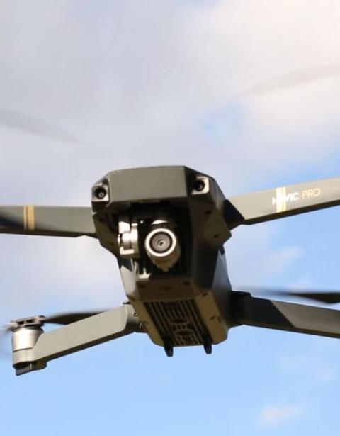Los drones no llevan radares