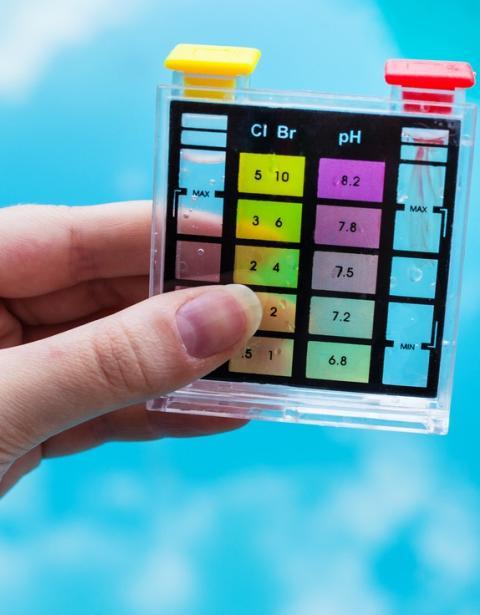 Memorias átomos de cloro