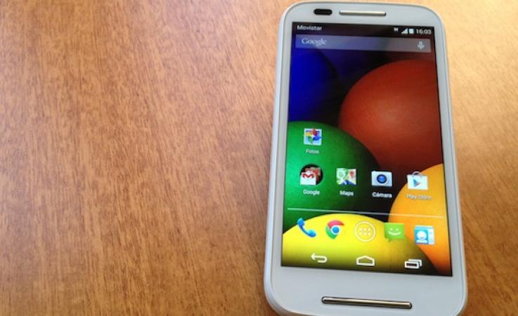 Motorola Moto E: análisis, características y precio