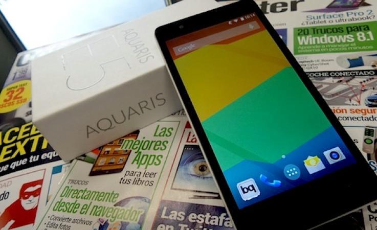 BQ Aquaris E5 HD: análisis del móvil español del momento