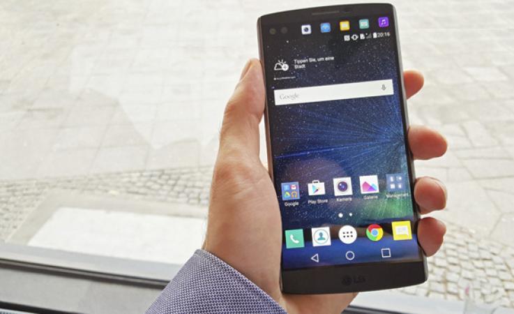 review movil LG V10, LG V10, caracteristicas LG V10