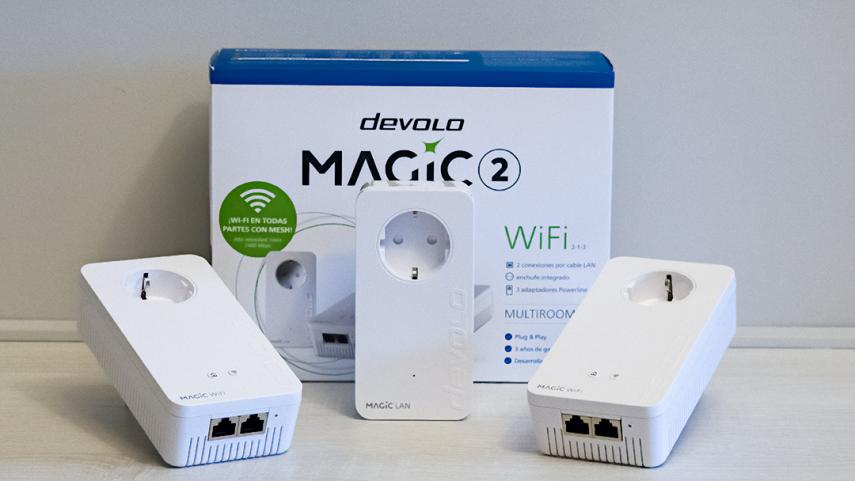 Instala devolo Magic 2 WiFi Multiroom Kit en solo tres minutos