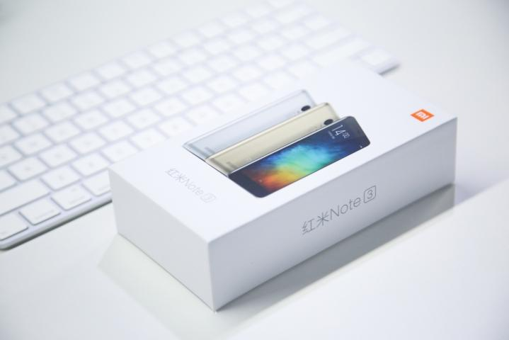 Packaging Xiaomi Redmi Note 3 - 2