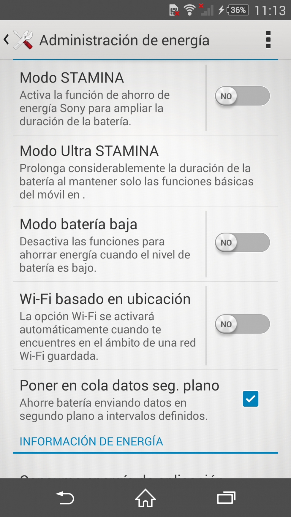 Software Sony Xperia Z3