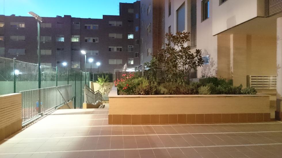 Fotografía exterior ISO 12800