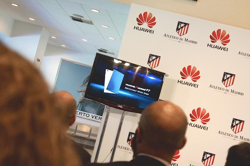 Huawei, nuevo partner del Atlético de Madrid