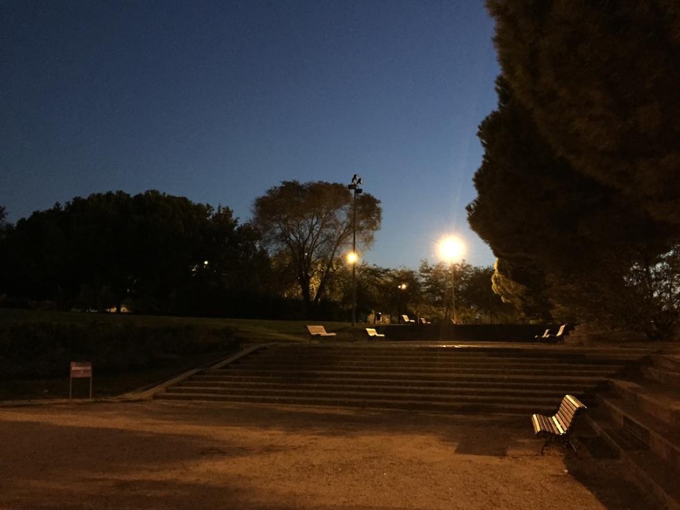 Fotografía nocturna sin HDR