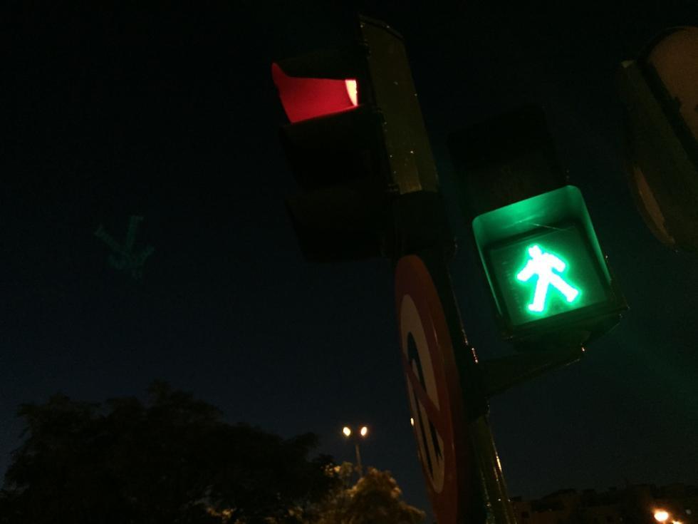 Fotografía nocturna detalle