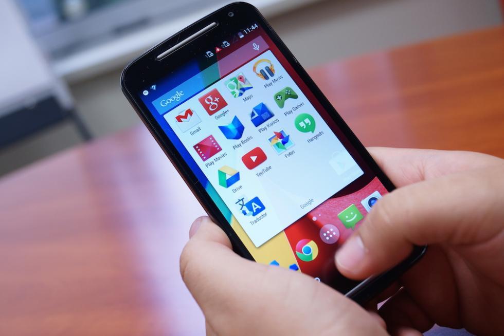 Moto G Google