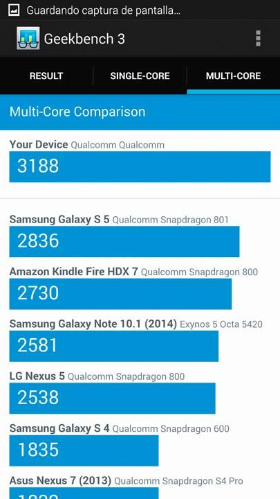 Samsung Galaxy Note 4 (Benchmark)