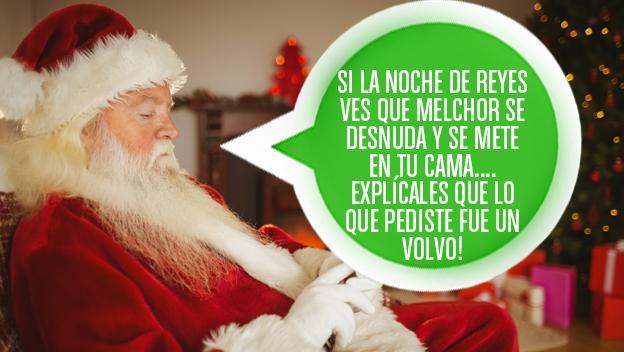 mensaje felicitación Navidad Picante humor