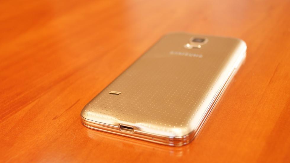 Samsung Galaxy S5 Mini carcasa trasera