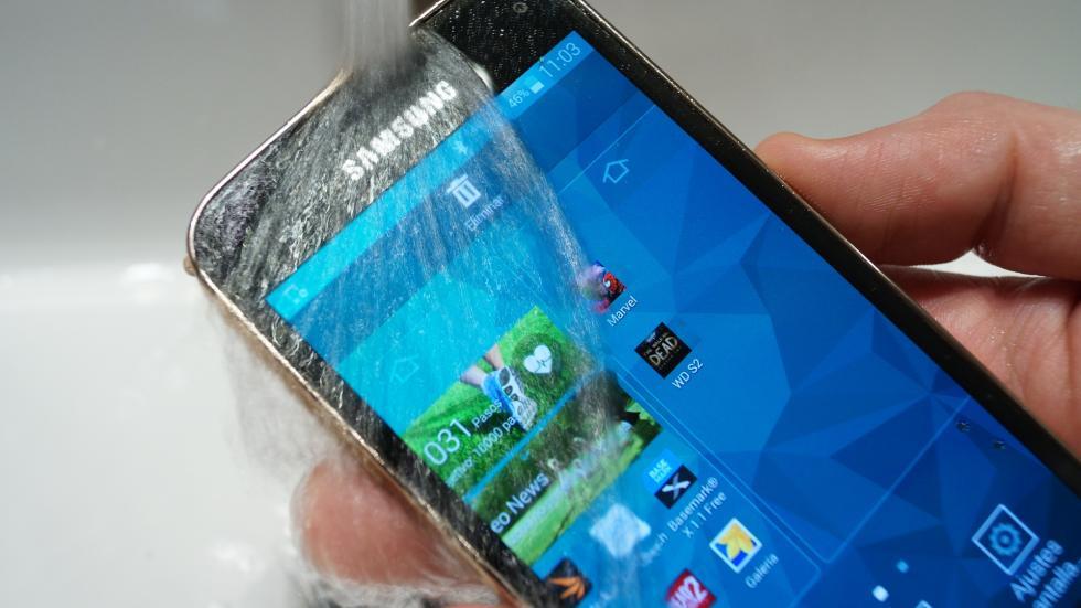 Samsung Galaxy S5 Mini resistente al agua