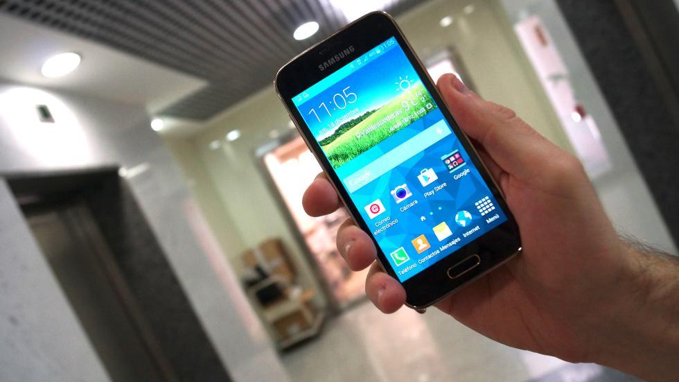 Samsung Galaxy S5 Mini pantalla de 4,5 pulgadas
